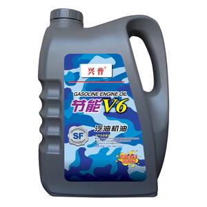 兴普V6汽机油SF  4L