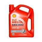 壳牌 红壳红喜力汽机油 HX3 SL/CF 10W-30 4L 1瓶装 4瓶/箱